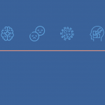 a header image containing symbols related to mental health in pakistan during covid